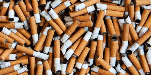 cigarettes and teeth